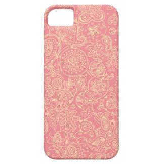 Bubblegum Paisley Case For The iPhone 5