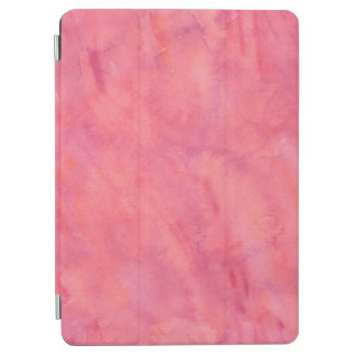 Bubblegum Pink Watercolor Texture Pattern iPad Air Cover