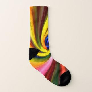 Bubblegum Swirl All Over Print Socks
