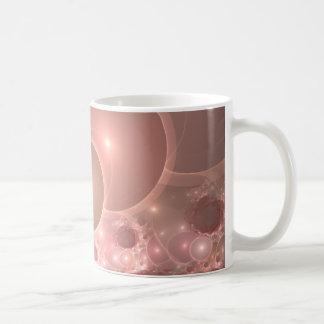 bubbles blush gradient coffee mug