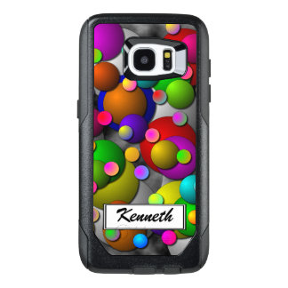 Bubbles by Kenneth Yoncich OtterBox Samsung Galaxy S7 Edge Case