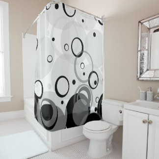Bubbles, Champagne [Circle Dance] Shower Curtain