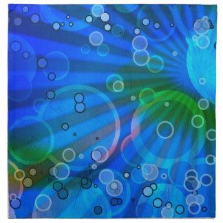 Bubbles Design Napkin