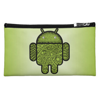 Bubbles Doodle Character for the Android™ robot Cosmetic Bag