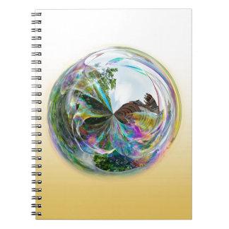 Bubbles Globe Notebooks