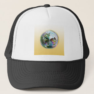 Bubbles Globe Trucker Hat