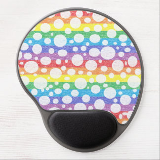 Bubbles in a Rainbow Sea Gel Mousepad