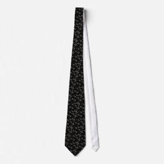 Bubbles in the dark tie