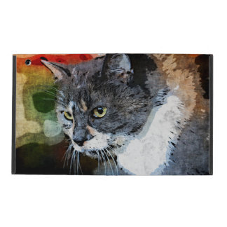 BUBBLES INTENTLY FOCUSED iPad CASE