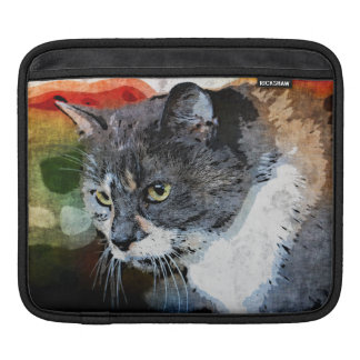 BUBBLES INTENTLY FOCUSED iPad SLEEVE