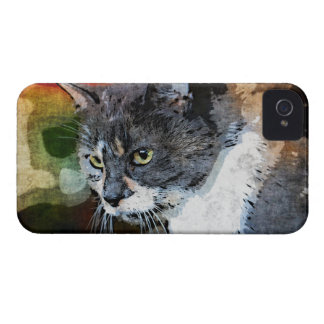 BUBBLES INTENTLY FOCUSED iPhone 4 COVER