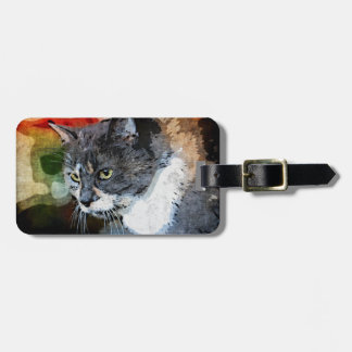BUBBLES INTENTLY FOCUSED LUGGAGE TAG