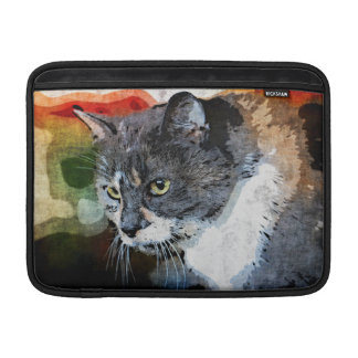 BUBBLES INTENTLY FOCUSED MacBook SLEEVE