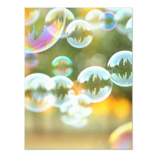 Bubbles magnetic card