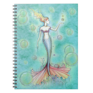 Bubbles Mermaid Notebook