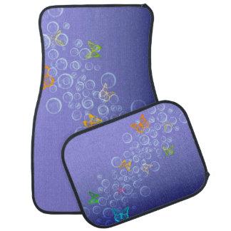 Bubbles n Butterflies Floor Mat