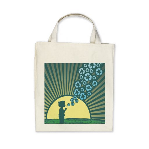 Bubbles Organic Tote bag