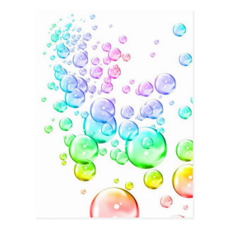 Bubbles Postcard