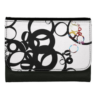 BUBBLES Woman to leather wallet