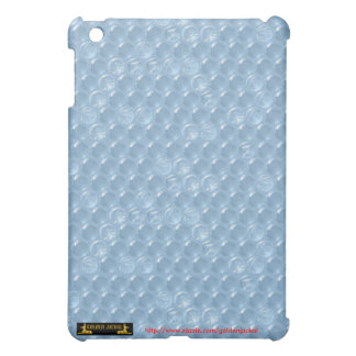 Bubblewrap blue plastic cover pop funny humorous iPad mini covers