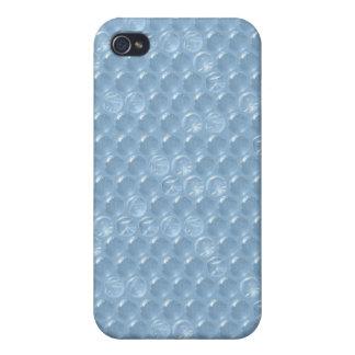 Bubblewrap blue plastic cover pop funny humorous iPhone 4/4S cover