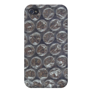 Bubblewrap plastic cover pop funny humorous iPhone 4/4S cover