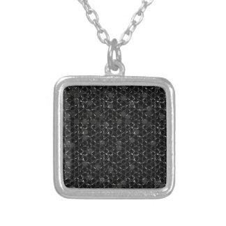 BubbleWrap Silver Plated Necklace