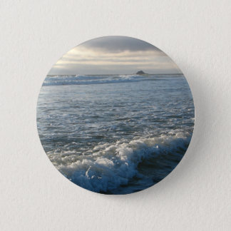 Bubbling Current 6 Cm Round Badge