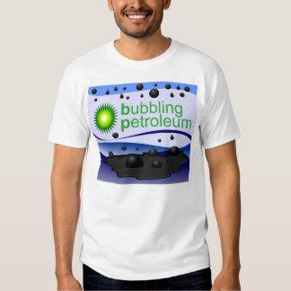 Bubbling Petroleum Tshirts