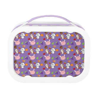 bubbly and his friends patterns lunch boxes
