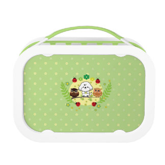 Bubbly and owls-enjoy spring lunchboxes