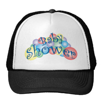 Bubbly Baby Shower Hat