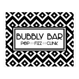 Bubbly Bar Postcard