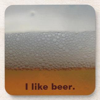 Bubbly Beer Cork Coaster
