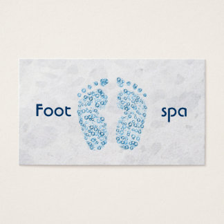 bubbly feet business card