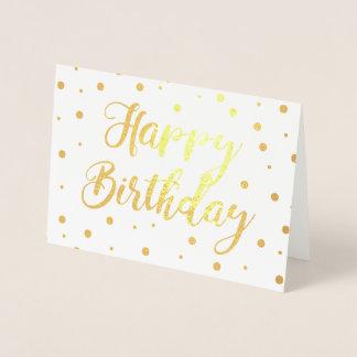 Bubbly Happy Birthday Foil Card