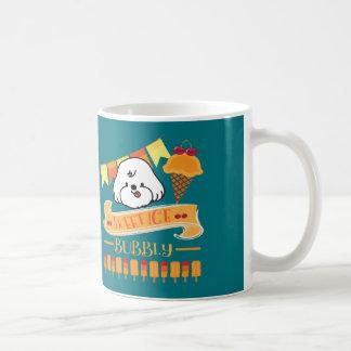 bubbly loves ice cream coffee mug