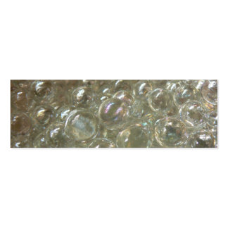 Bubbly Marbles Bookmark Pack Of Skinny Business Cards