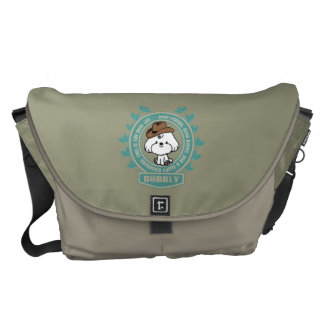 Bubbly- Mark twain Courier Bags