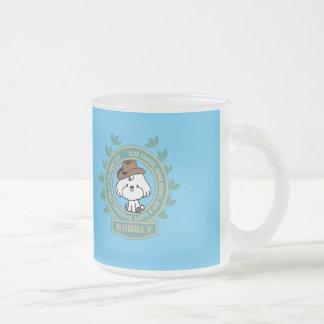 Bubbly -Mark twain said Frosted Glass Coffee Mug