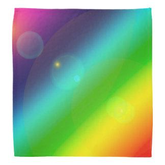 Bubbly Rainbow Bandana