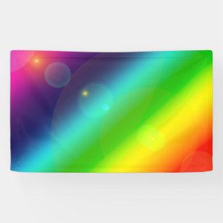Bubbly Rainbow Banner