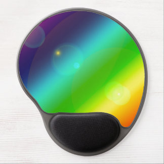 Bubbly Rainbow Gel Mouse Pad