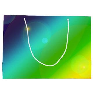 Bubbly Rainbow Large Gift Bag