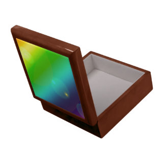 Bubbly Rainbow Large Square Gift Box