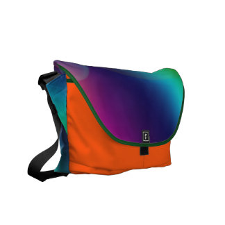 Bubbly Rainbow Messenger Bags