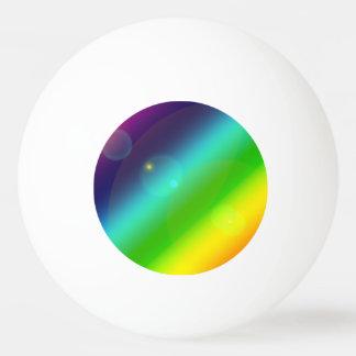 Bubbly Rainbow Ping Pong Ball