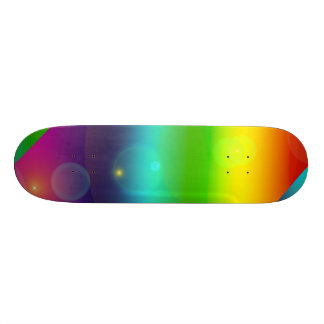 Bubbly Rainbow Skateboard Decks