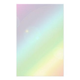 Bubbly Rainbow Stationery