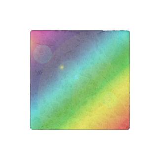 Bubbly Rainbow Stone Magnet
